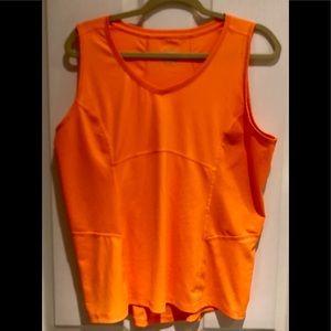 TEK GEAR DRY TEK XL Tank Top Workout Top Orange